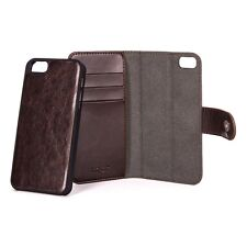 Xqisit Wallet Case Eman Removable Shell Folio for Apple iPhone 6 / 6s - Brown