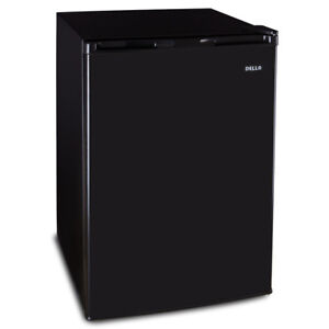 Mini Small Refrigerator Black Compact Fridge Freezer Dorm