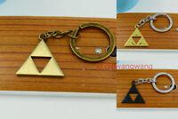 Nintendo Legend of Zelda Triforce logo pendant keychain keyring 3style cool