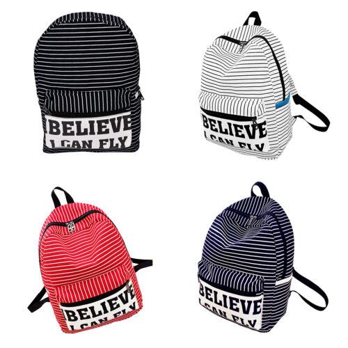 Unisex Girls Hiking Rucksack Laptop School Backpack Shoulder Bag Travel Satchel