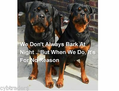 Dog Bone Magnet I Love My Rottweiler Cars Refrigerators Puppy Buy2 Get1 Free
