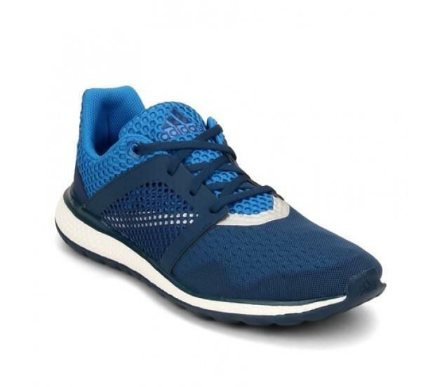 Adidas Performance Energy Bounce 2 M Mens Running shoes bluee Whtie B49589 NEW