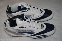 Mens Football Cleats Reebok U Form Mid M4 Blue White Size 14