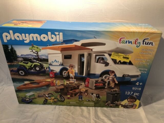 Playmobil #9318 Camping Adventure - New Factory Sealed (W7)