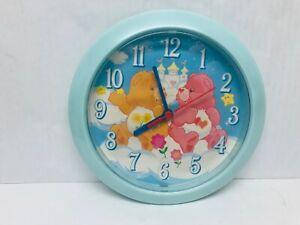 Care Bears Wall Clock 2003 Works Cheer