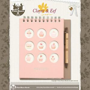 CLAYRE & EEF | 6PA0077 | Ricettario - Recipe book | Shabby chic