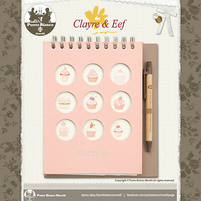 Clayre & Eef | 6pa0077 | Ricettario - Recipe Book | Shabby Chic Aroma Fragrante