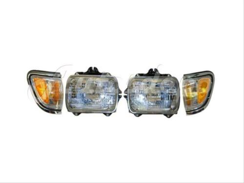 For 1995-1997 TACOMA 4WD SEALED BEAM TYPE HEADLIGHT PARK/SIDE MARKER LIGHT 4PCS