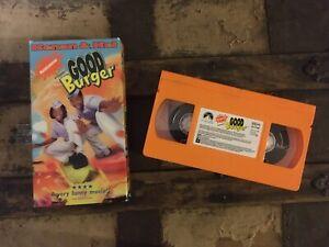 Good Burger (VHS) 1998 Nickelodeon Paramount Kenan Thompson & Kel Mitchell