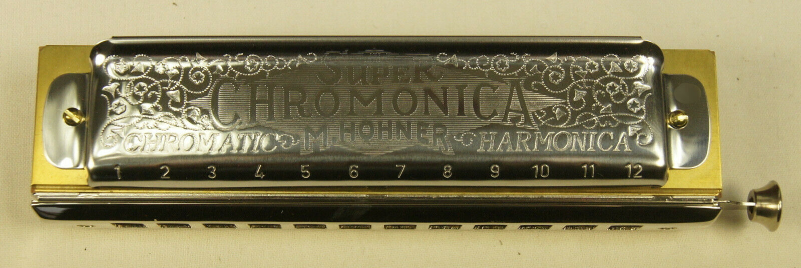 Harmonica chromatique Hohner Super Chromonica 270 48 en Do Ténor   C Ténor