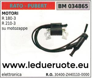 30400Z4401100000 BOBINA ELECTRÓNICA SIERPE MOTOR RATO PUBERT R 180-3 210-3