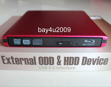 USB 3.0 External Sony Optiarc BD-5750L 3D Blu-Ray Burner Writer BD-RE DVD Drive