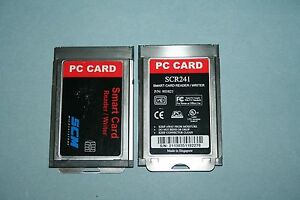 SCR241 PCMCIA SMART CARD READER TREIBER