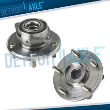 Pair 2 Front Wheel Bearing And Hub Assembly For 2009 2016 Dodge Journey 5 Lugs