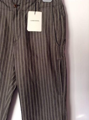 Striped 260 Bnwt Costume Rr Auth Elegant 100 Mens 46 Troursers National 6xqRvXwxa
