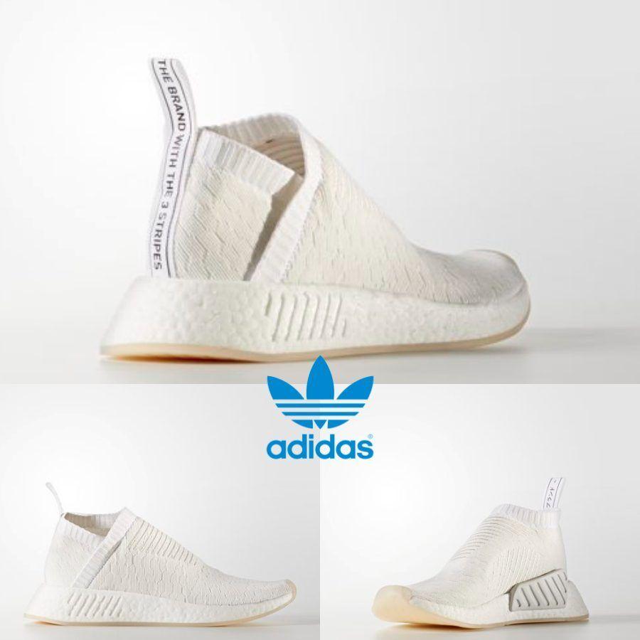 9f7b499d3 Adidas Original NMD CS2 PK W City Sock Shoes Running White BY3018 SZ 4-11