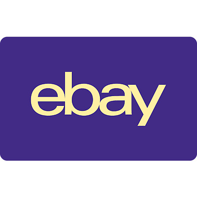 eBay Gift Card - $50 Mail Delivery