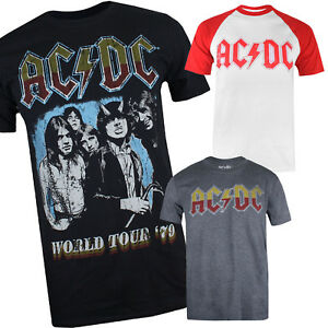 ACDC-Mens-T-shirt-Sizes-S-XXL-Official-Licensed-Music-Rock-Top