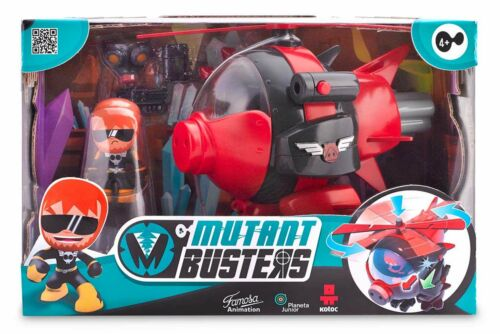 Mutant BUSTERS SERIE Elicottero Bambini Serie TV PERSONAGGIO ACTION FIGURES Toy