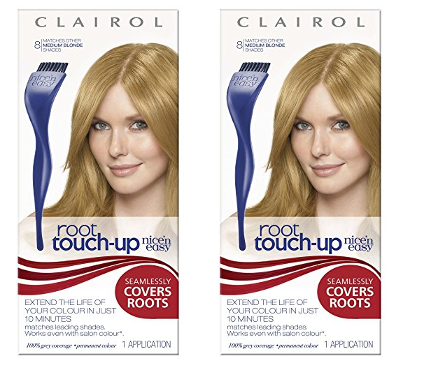 Clairol N Easy Root Touch Up Hair Color Highlight Medium Golden