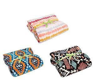 NWT-Authentic-Vera-Bradley-XL-Throw-Blanket