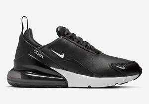 Details about Men's Nike Air Max 270 Premium Leather Athletic Fashion Sneakers BQ6171 001