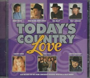 Music-CD-Today-039-s-Country-Love-Various-Artists