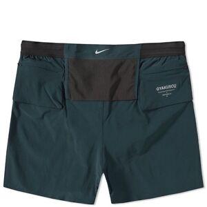 Nike x Undercover Gyakusou Dri-Fit Woven Racer Short Teal Size XL 2XL 811230 400