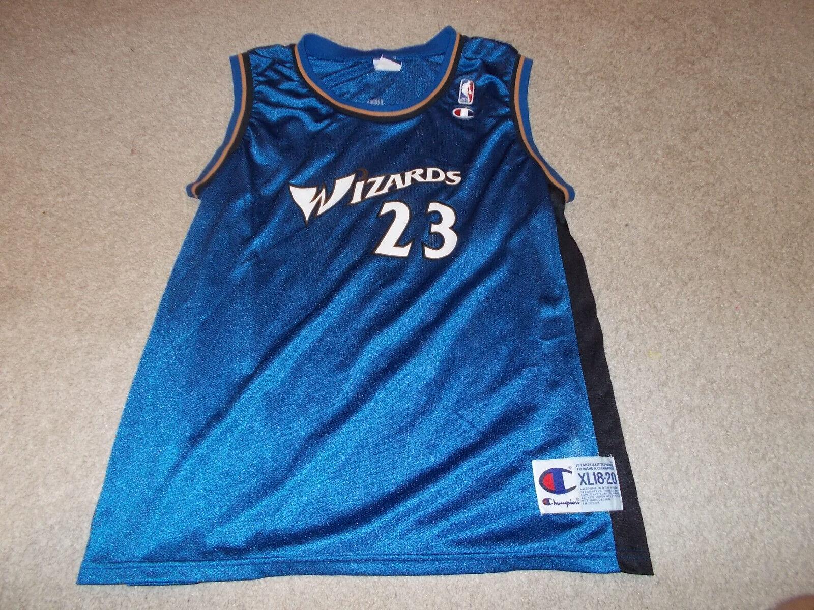 Vtg-2000s Washington Wizards Michael Jordan Champion Jugendliche XL Trikot Trikot Trikot b29fd0