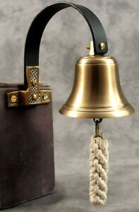 Image is loading SHOPKEEPERS-BRASS-&-WROUGHT-IRON-DOOR-ENTRY-BELL- & SHOPKEEPERS BRASS \u0026 WROUGHT IRON DOOR ENTRY BELL Door Mount Doorbell ...
