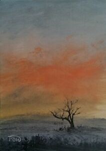 ACEO-2020-024-Pip-Walters-Original-Miniatute-Landscape-Oil-Painting-on-MDF
