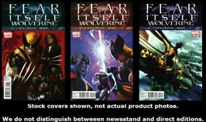 Fear-Itself-Wolverine-1-2-3-Conjunto-Completo-Ejecutar-Lote-1-3-MB-NM