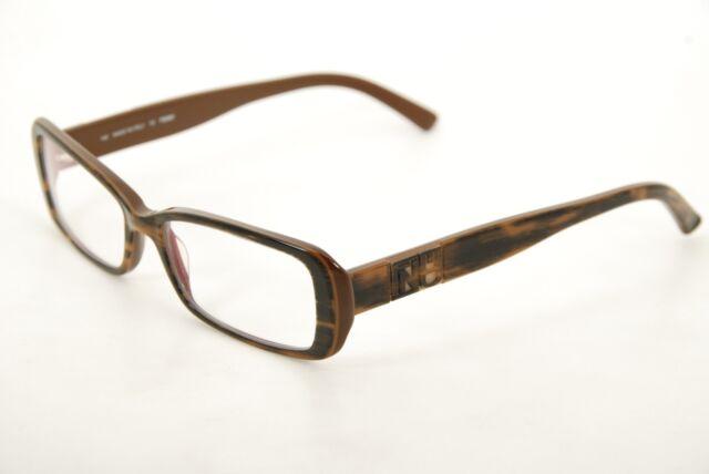 436dde5229e2 New Rare Authentic Fendi F 768 205 Brown Stripe 51mm Eyeglasses Frames  Italy RX