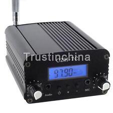 7W Stereo LCD Broadcast Radio Station FM Transmitter CZH-7C US FAST SHIP!