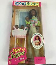 Mattel Barbie doll Cool Sitter Teen Skipper sister of Barbie. African-American