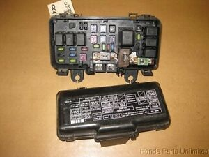 04 07 honda s2000 oem under hood fuse box with fuses relays and rh ebay com
