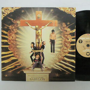 BACKYARD-BABIES-BABYLON-12-034-EP-1999-SWEDEN-ORIG-1-SIDED-ETCHED-VINYL-w-POSTER