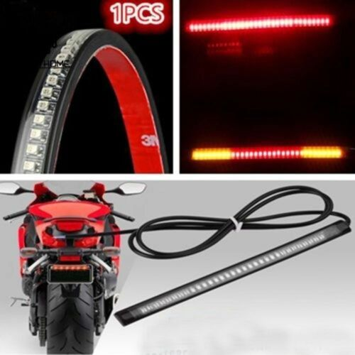 Other Lighting Parts Flexible Motorcycle 48 LED Strip Rear