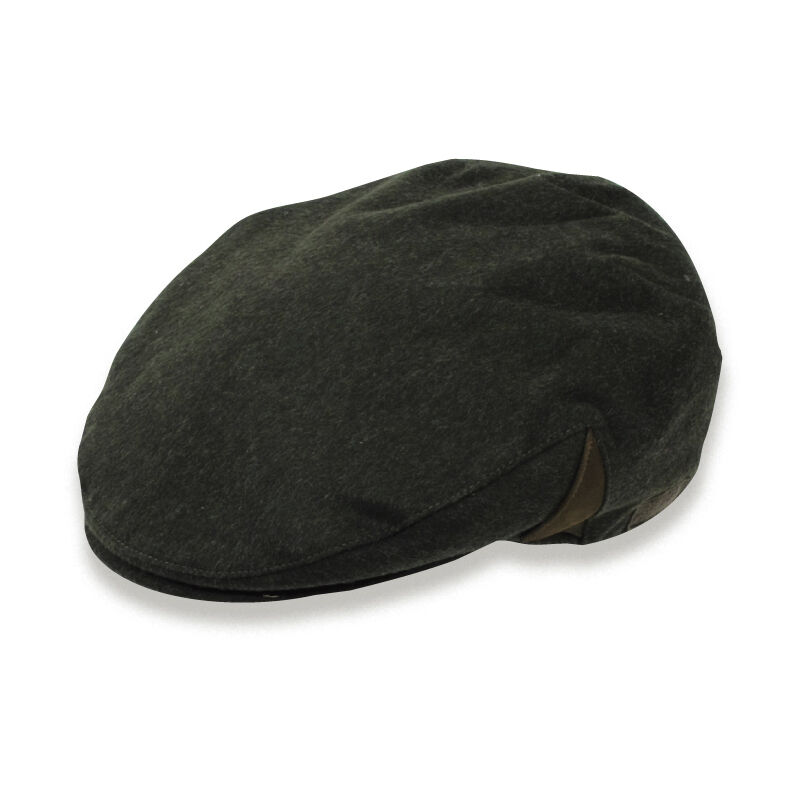 LODEN HAT Sixpence - Flatcap - Loden - With Sympatex & Leather - Waterproof