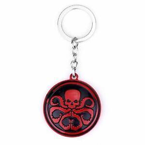 GOLDEN Marvel-Inspired Avengers Hydra Logo Key-Chain
