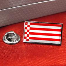 Bremen Flag Lapel Pin Badge / Tie Pin