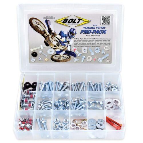 YZF WRF YZ 125 250 400 450 Bolts Bolt Pro Hardware Kit Yamaha Clips Etc Nuts