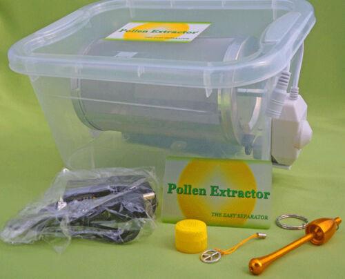 Pollen Extractor Extracteur de Pollen Dry Sifting Machine Pollinator