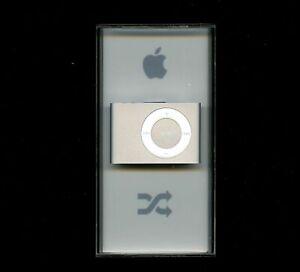 Apple Ipod Shuffle 2nd Generation Silver 1 Gb Mp3 Player Box A1204 Pa564ll A New 885909116478 Ebay
