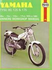 Yamaha TY50, 80, 125 and 175 1974-84 Owner's Workshop Manual by Jeremy Churchill (Paperback, 1988)