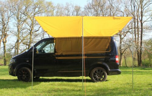 VW Campervan Sun Canopy Awning for T4 T5 T6 - Sierra Yellow