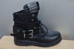 Stiefel & Stiefeletten Angemessen Replay Damenschuhe Schuhe Stiefelette Boots Schwarz Stars Bestickt Black/black