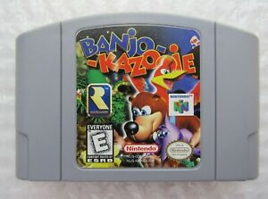 *GREAT* Banjo-Kazooie Nintendo 64 N64 Video Game Cart Retro Super Fun ✅