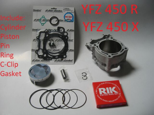 New Yamaha YFZ450 R//X Std Bore 95mm Piston kit Fit All Year