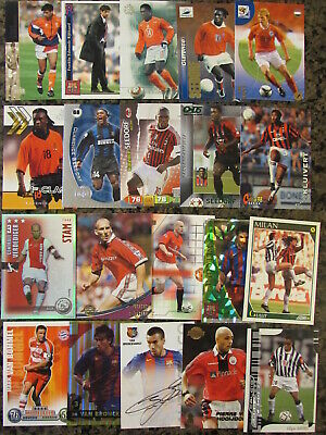 Jaap Stam Manchester United #51 Upper Deck 2001 Football Trade Card C361